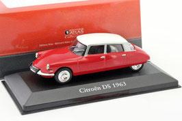 Citroën DS Berline 1963 rot / weiss