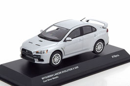 Mitsubishi Lancer Evolution X GSR 2009 RHD Cool Silver met.