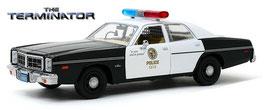 "Dodge Monaco 1977 ""Metropolitan Police Film The Terminator 1984"" schwarz /weiss"