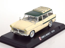 Simca Vedette Marly Phase II 1957-1961 grün / beige