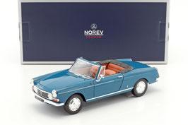 Peugeot 404 Cabriolet 1961-1968 dunkel blau / Softtop schwarz