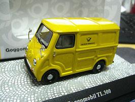 Glas Goggomobil TL 300 Kasten Deutsche Post 1957-1960 gelb