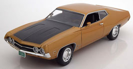 Ford Torino Cobra 1970 gold met. / matt-  schwarz
