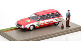"""Citroën CX Break Phase I 1975-1985 """"Blin Frères rot / weiss"""" Diorama"""