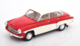 Wartburg 312 Limousine 1965-1967 rot / / creme