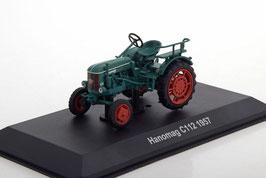 Hanomag C112 Traktor 1957 dunkelgrün / rot