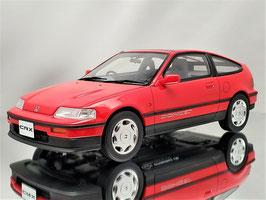 Honda CRX MK II Typ ED9/EE8 1987-1991 rot / schwarz
