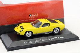 Lamborghini Miura P400 1966-1968 gelb