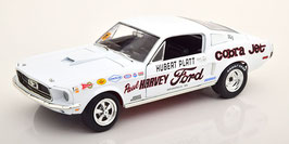 "Ford Mustang S/S Cobra Jet 1968 ""Hubert Platt / Paul Harvey weiss / Decor"""