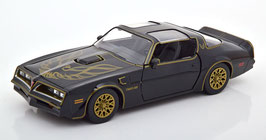 "Pontiac Firebird Trans Am II Phase III 1977-1979 ""Film Smokey and the Bandit 1977"" schwarz / gold"