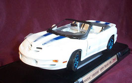 Pontiac Firebird Trans Am IV Convertible 30th Anniversary Ed. weiss / blau