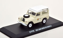 "Land Rover 88 SWB Series II 1961 beige / weiss ""Film Ace Ventura 1994"