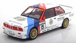 BMW M3 E30 DTM Champion 1989 Ravaglia weiss / hellblau / blau / rot 1:18 von Solido