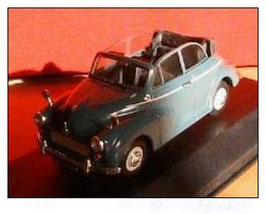 Morris Minor 1000 Convertible 1956-1971 Clipper Blue