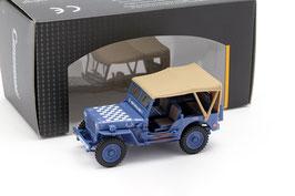 Jeep Willys US Army 1942-1945 blau / weiss / beige