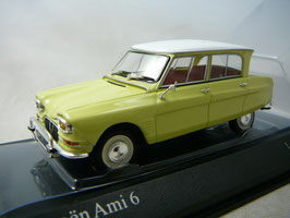 Citroën AMI 6 Berline 1961-1969 Jaunes de Naples / weiss