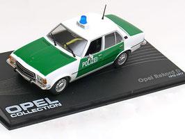 Opel Rekord D Diesel 1972-1977 Polizei Deutschland weiss / grün