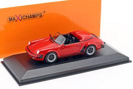 Porsche 911 Speedster 1989 rot