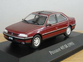 Peugeot 405 Berline 1993 dunkelrot met.
