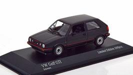 VW Golf II GTI Phase I 1984-1987 schwarz / rot