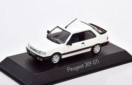 Peugeot 309 GTI Phase I 1987-1989 weiss / schwarz