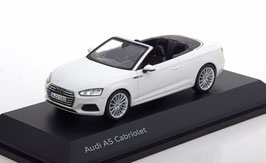 Audi A5 F5 Cabriolet Phase I 2017-2020 weiss met.