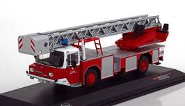 """Magirus DLK 2312 1986 """"Feuerwehr Frankfurt / Main rot / weiss / silber"""