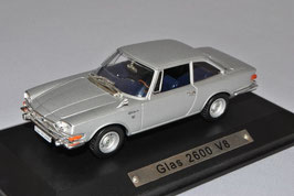 Glas 2600 V8 Coupé 1966-1967 silber met.