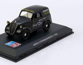 Simca 5 Fourgonnette 1936 schwarz
