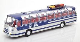 "Pegaso 5070 / Setra Seida S14 Reisebus / Car 1967 ""Alsa"" silber / dunkelbla"