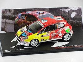 Fiat Grande Punto S2000 #8 Rally Monte Carlo 2010 T. Gardemeister