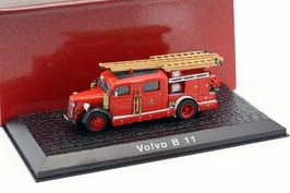 Volvo B11 Feuerwehr 1965 rot / schwarz / weiss
