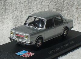 Simca Abarth 1150 S 1963 silber met.