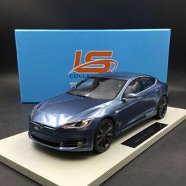 Tesla Model S Phase II seit 2016 grau- blau met.