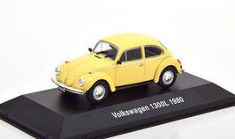 VW Käfer 1300 L 1980 gelb