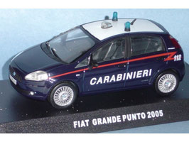 "Fiat Grande Punto Phase I 2005-2009 ""Carabinieri dunkelblau / weiss"""