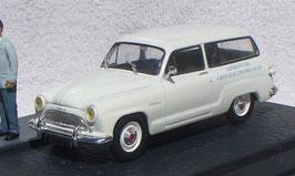 Simca Aronde Châtelaine 1958-1964 weiss Diorama Salesman