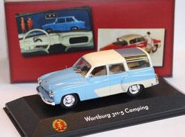 Wartburg 311-5 Camping Kombi 1956-1965 hellblau / creme