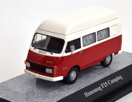 Hanomag F 25 Campingbus 1967-1975 dunkelrot / weiss