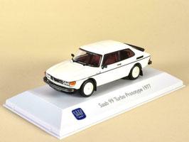 Saab 99 Turbo Prototype 1977 weiss met.