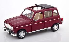 Renault 4 L Phase I 1961-1967 dunkelrot / schwarz