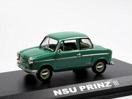 NSU Prinz III 1960-1962 dunkelgrün