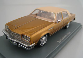 Buick Electra V Sedan PhaseII 1980-1984 gold met. / beige
