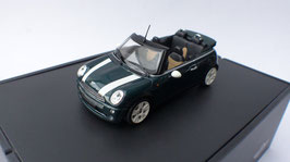 Mini Cooper Convertible R52 2004-2008 dunkelgrün met. / weiss