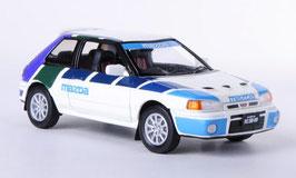 Mazda 323 GT-AE MAZDA 1991 RHD weiss / blau