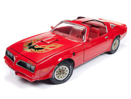 Pontiac Firebird II Trans Am Phase III 1977-1979 rot / Decor