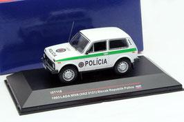 Lada Niva / VAZ 2121 1993 Policia Slovak Republik weiss / grün
