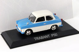 Trabant P50 Limousine 1957-1962 blau / weiss
