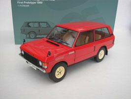 Range Rover Velar FIRST PROTOTYPE 1969 rot