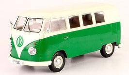 VW T1b Bus mit Faltdach 1960-1963 dunkel grün / weiss